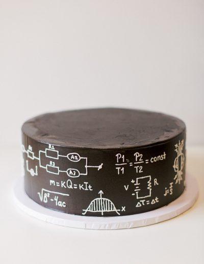 Physics cake