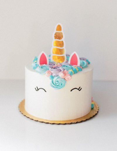 Unicorn cake (front)